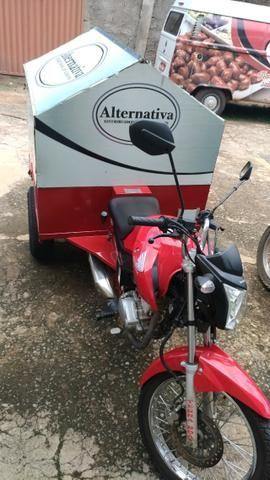 Moto Carga Honda