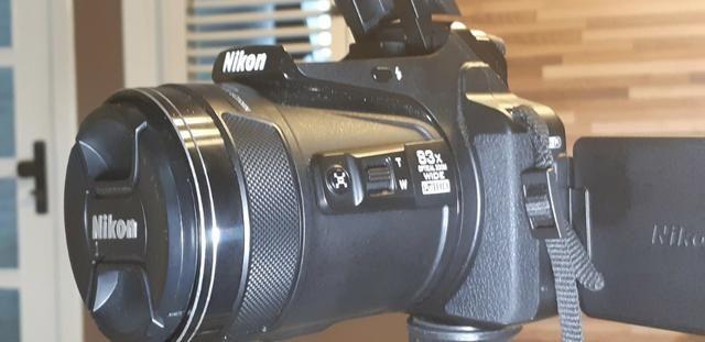 Câmera Nikon Coolpix P900 zoom óptico de 83x impecável e completa-Para exigentes - Foto 5