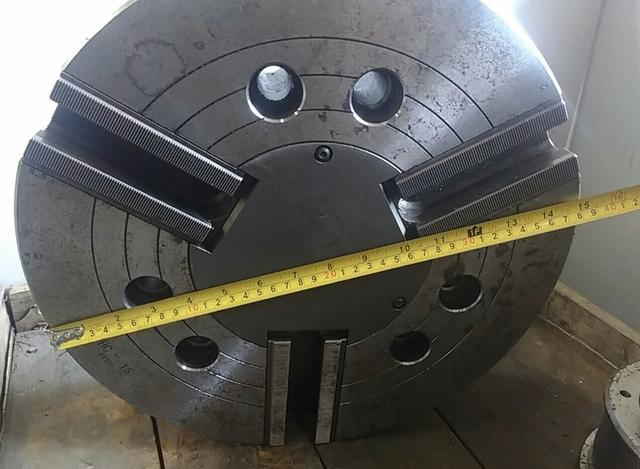 Placa hidráulica 15 polegadas para torno CNC Nova - Foto 2