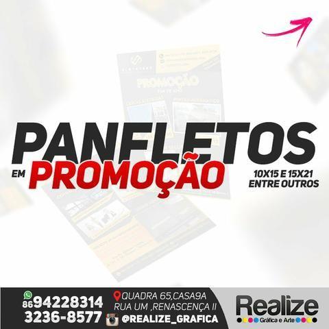 Panfletos promoção - Outros itens para comércio e escritório - Renascença ee18cdce794