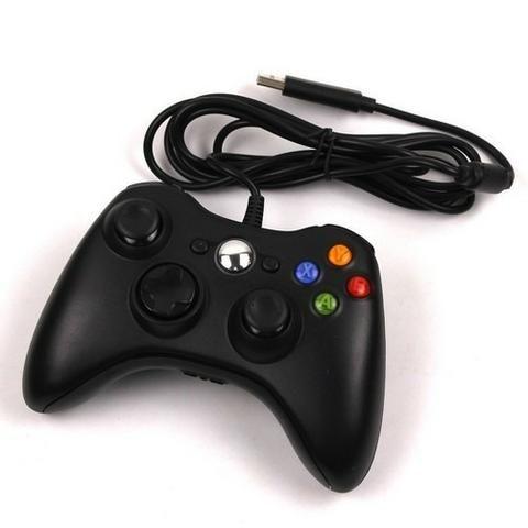 Controle Com Fio Xbox 360 E Pc -( Loja na Cohab ) Total Segurança Em sua Compra - Foto 3