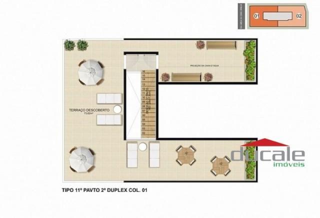 Davi Amarante Apartamento 2 quartos suíte em Bento Ferreira - Foto 14