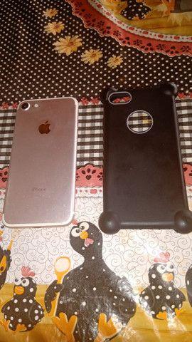Vendo iphone 7 novo - Foto 2