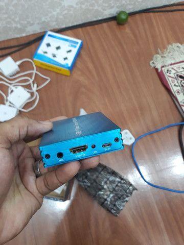 Placa de captura de Video USB HDMI 4k - Foto 3