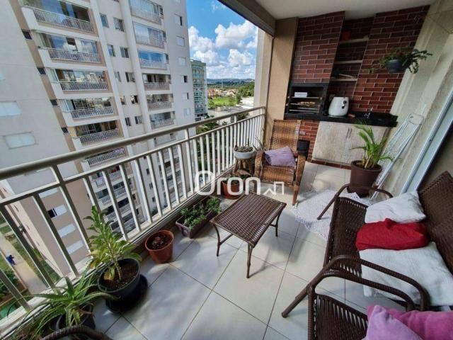 Apartamento com 3 dormitórios à venda, 106 m² por R$ 470.000,00 - Setor Goiânia 2 - Goiâni - Foto 2