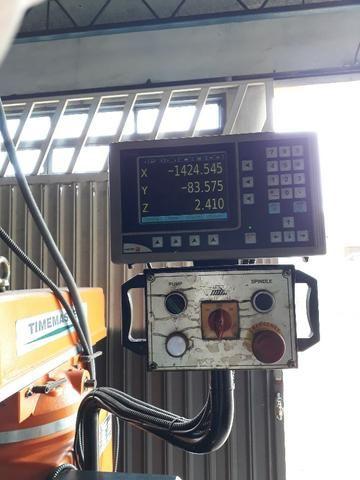 Vendo ou troco Torno Nardini ND250 e Fresa ferramenteira Timemaster 4KVME - Foto 4