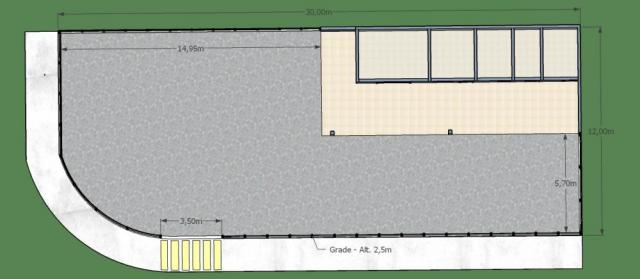 Terreno à venda com 0 dormitórios em Parque jaguare, Sao jose do rio preto cod:V5055 - Foto 3