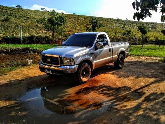 Vendo ou troco F250 XLT turbo diesel mwm 4.2
