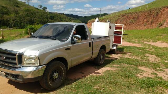 Vendo ou troco F250 XLT turbo diesel mwm 4.2 - Foto 3