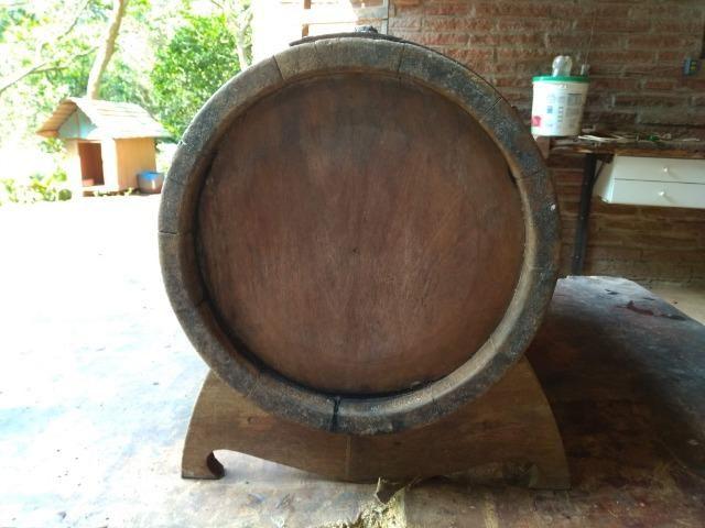 Barril/Pipa de carvalho 45 litros - Foto 5