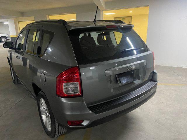 Jeep Compass Sport 2.0 automática muito nova OBS: taxa de 1%no cartao de credito - Foto 9