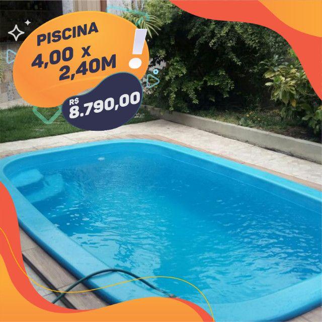 Promoção - Piscina de Fibra - Linha Premium - Foto 2