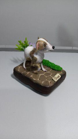 Miniatura Personalizada Com Biscuit - Foto 3