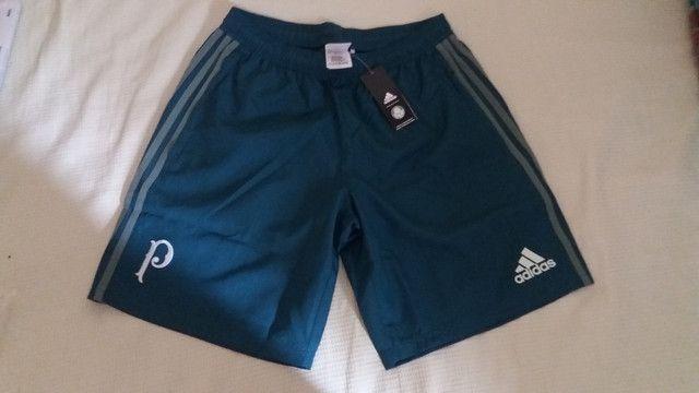 Bermuda Adidas Palmeiras de Viagem Original