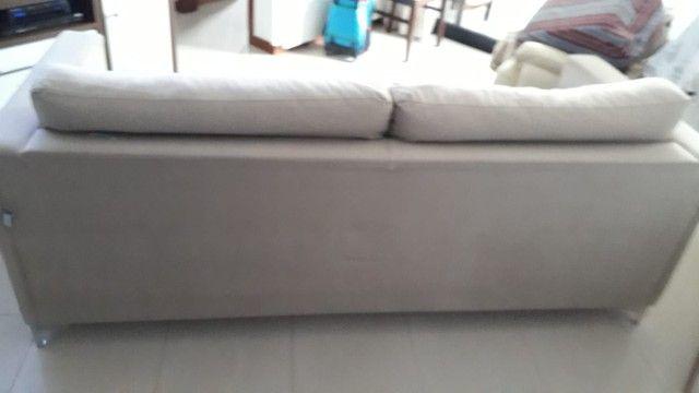 Sofa. Dóis metros e dez de comprimento. - Foto 5