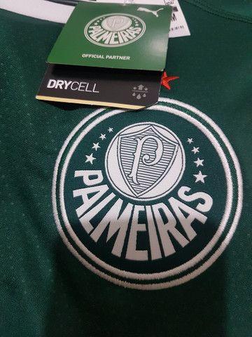 Camisa Puma Palmeiras Tamanho M Original  - Foto 4