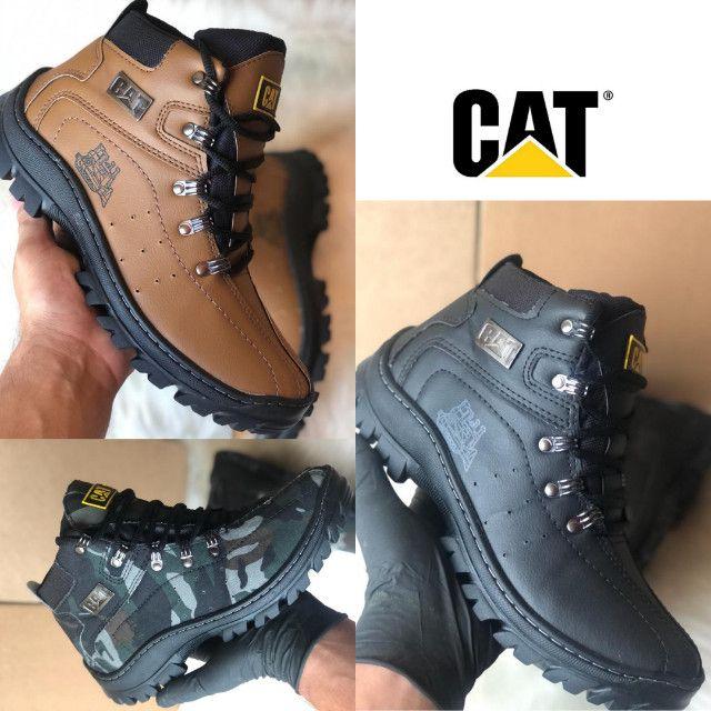 Lançamento adventure botas CAT confortável original Caterpillar  - Foto 5
