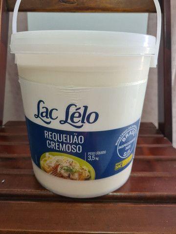 Balde Requeijão cremoso lac Lelo 3,5  Parcela e entrega