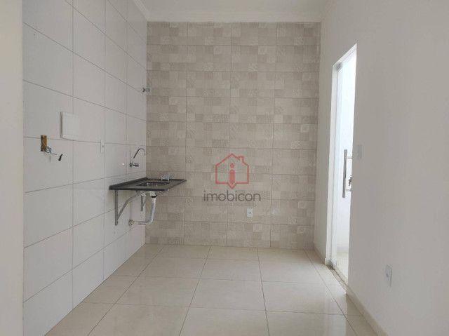 Casa com 3 dormitórios para alugar, 73 m² por R$ 750,00/mês - Lot. Cidade Serrinha - Vitór - Foto 4