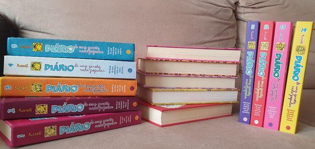 """Coleção de Livros """"Diário de uma Garota Nada Popular"""" - Foto 2"""