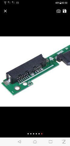 Placa Caddy para segundo HD ou SSD em Notebook - Foto 5