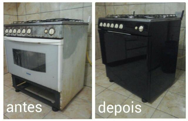 Armario Baixo Escritorio Preto ~ Envelopamento de fog u00e3o e micro ondas Eletrodomésticos Curado, Jaboat u00e3o dos Guararapes