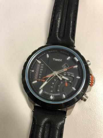 05c6233f87e9 Relógio Timex Novo - Cronômetro Linear -Excelente! - Bijouterias ...