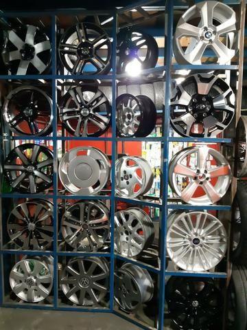 Rodas aros 13/14/15/16/17/18/19/20/22 para Fiat/GM/Nissan/VW/Toyota/Ford/Citroen e outros - Foto 3