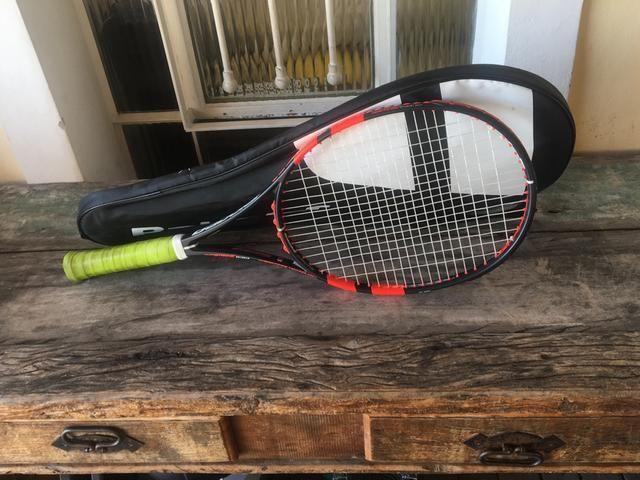 ad0ef5f4d Raquete de Tênis Babolat Purê Strike 100 - Esportes e ginástica ...
