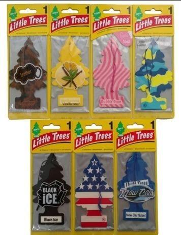 Little trees aromatizantes importados (Promoção)