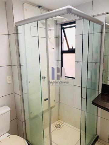 Apartamento com 3 dormitórios para alugar, 101 m² por r$ 2.800,00 - alecrim - natal/rn - Foto 13