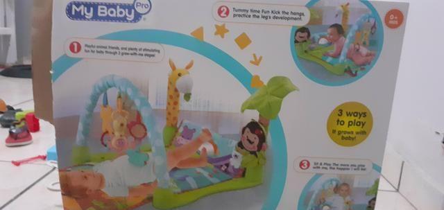 Tapete interativo para bebe