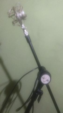Microfone completo+pedestal vector - Foto 4