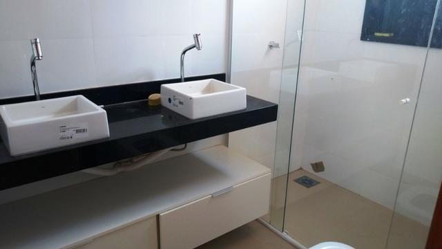 Samuel Pereira oferece: Casa 3 Suites Moderna Armários Churrasqueira Sobradinho CABV - Foto 19