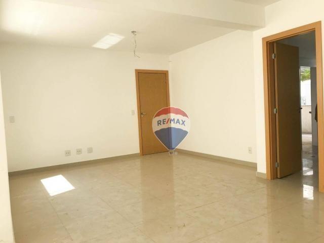 Apartamento garden com 4 dormitórios à venda, 130 m² por r$ 750.000,00 - buritis - belo ho - Foto 3