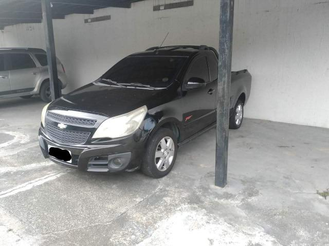 Chevrolet Montana Sport 1.4 Cor Preta Completa 2011/2011 - Foto 5