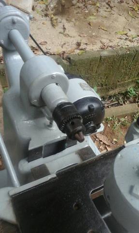 Furadeira horizontal com motor de 2cv trifásico - Foto 4