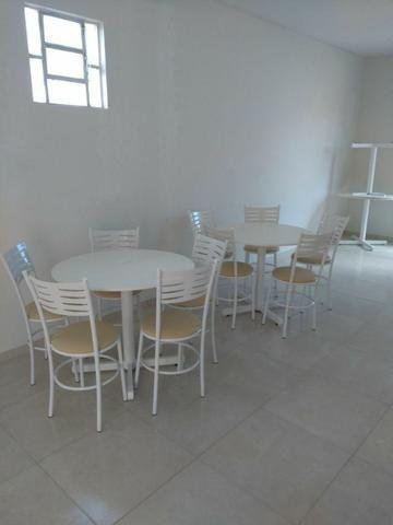 Mesas e cadeiras de ferro - Foto 2