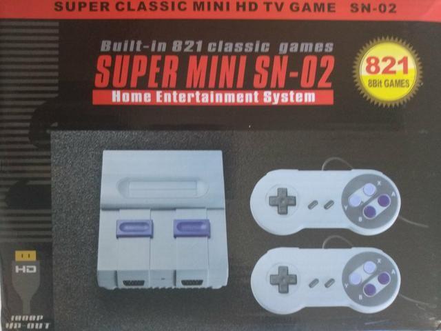 Game com 821 jogos de diversos consoles