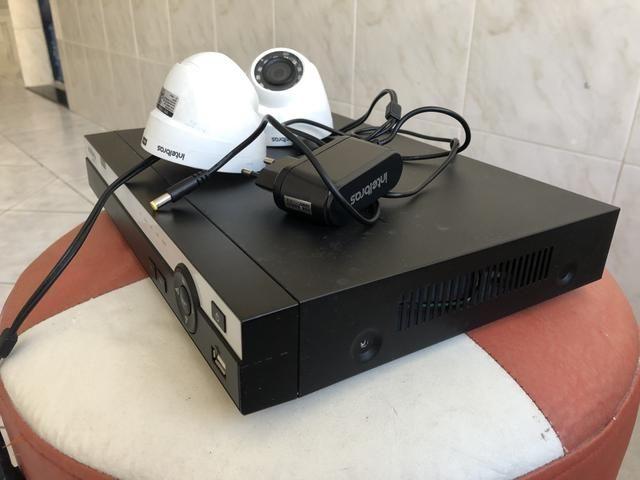 Vendo Dvr da Intelbras com duas câmera em Hd - Foto 3