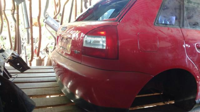 Sucata Audi A3 1,8 Turbo 180 cv 2002 - Motor Câmbio Peças Acessórios - CDV Credenciado