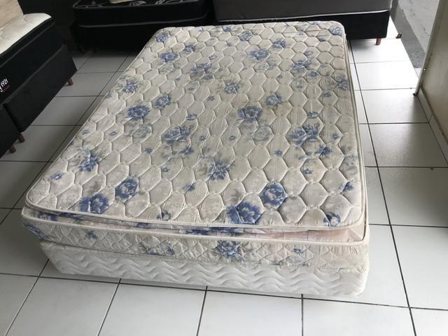 Base box mais colchão e casal - entregamos