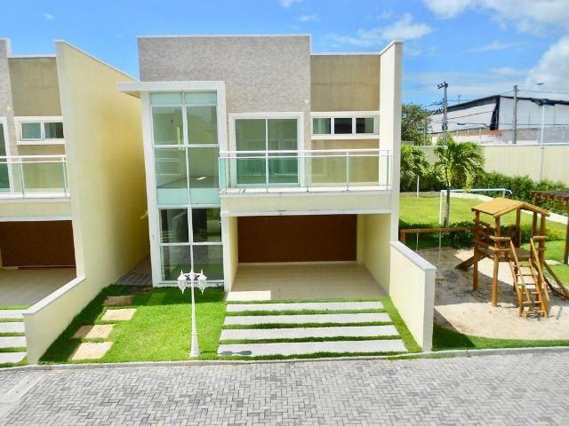 CA0780 - Casa duplex nova em condomínio fechado na Lagoa Redonda