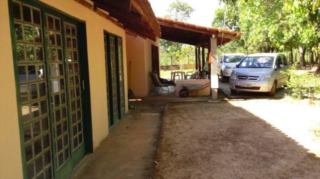 Casa/Rancho na beira do Rio Paranã