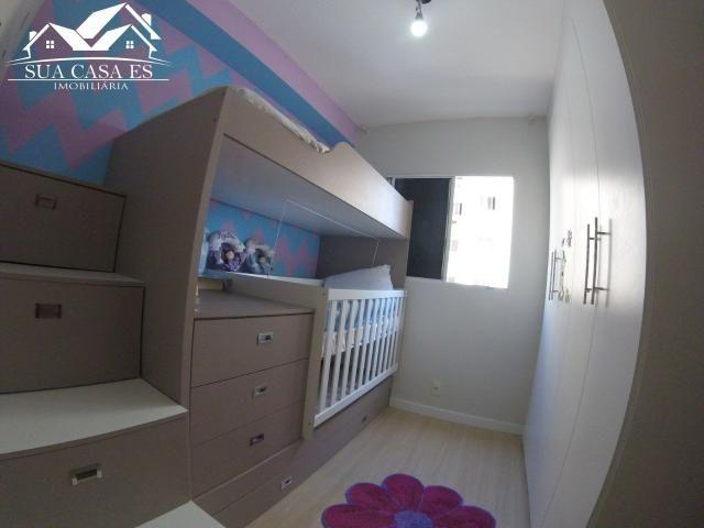 GM - Lindo Apartamento com Elevador e Lazer Club - ES - Foto 3