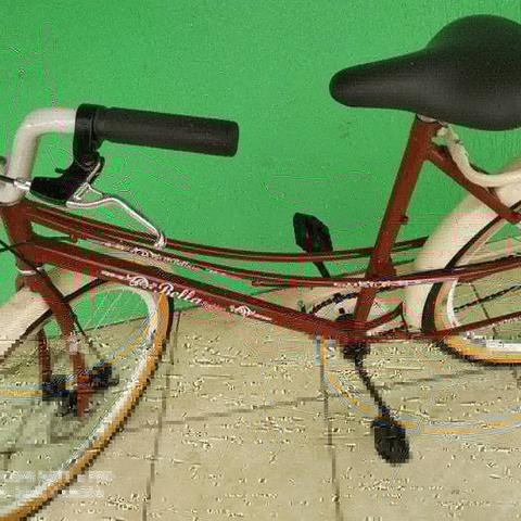 Bicicleta modelo retro nova