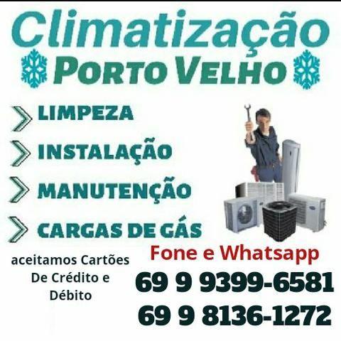 Promoção Instalação Central de ar Nova $139,90 Usada $89,90 - Foto 2