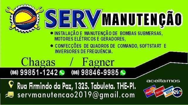 Serv manutenção