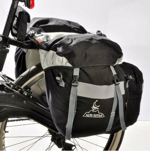 Bolsa Alforge Bike Bicicleta Alto Estilo - Foto 4