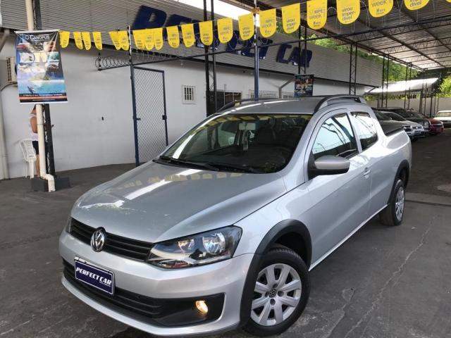 VOLKSWAGEN SAVEIRO 2014/2015 1.6 MI TRENDLINE CD 8V FLEX 2P MANUAL - Foto 13